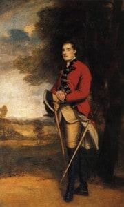 Sir Richard Worsley reynolds Portrait